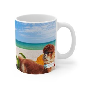 And I-i-i-i-i, Will Always Love You, 11 oz. Coffee Mug Alpaca Gift alpaca watching
