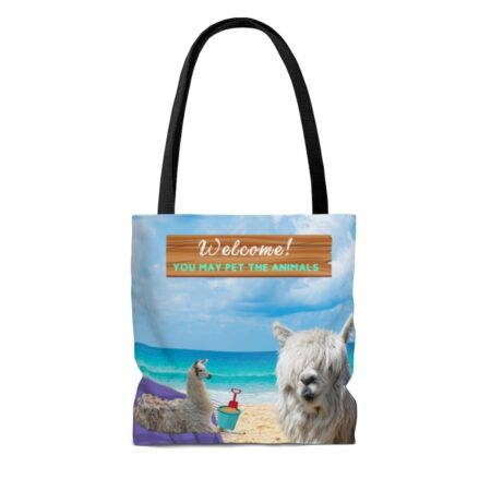 Greetings from Alpaca Beach gift blanket children alpacas