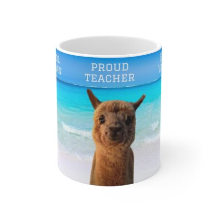 Thank you for being the reason I smile gift mug from parent to child