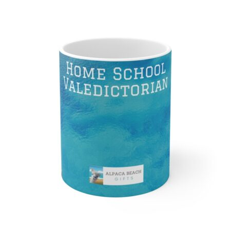 Home school valedictorian gift mug for child ocean