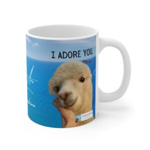 I adore you gift mug for niece