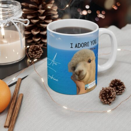I adore you gift mug for boyfriend
