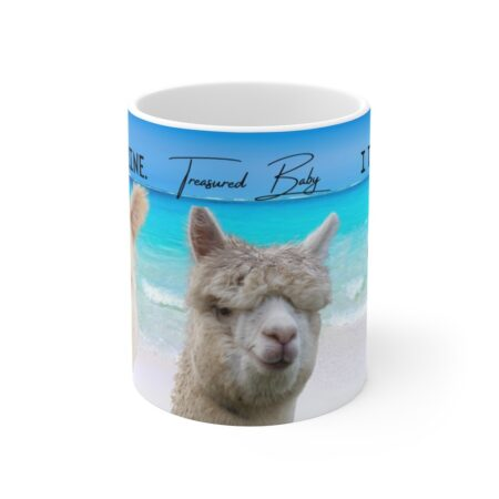 I treasure you gift mug for grandson
