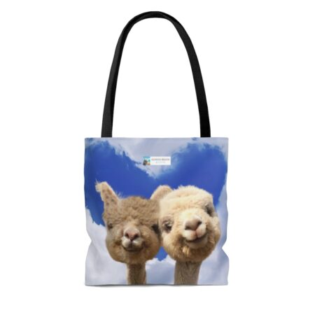 Naturally High anniversary gift with alpacas and heart