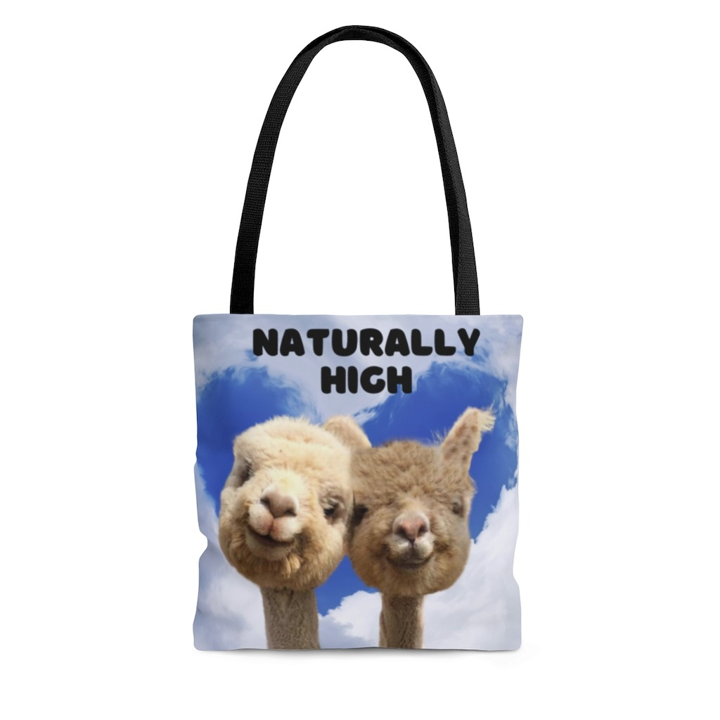 Naturally High anniversary gift bag