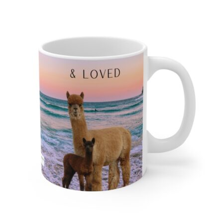 Protected & Loved gift mug for daughter