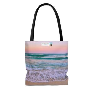 Thank you for being the reason we smile gift beach bag for daughter