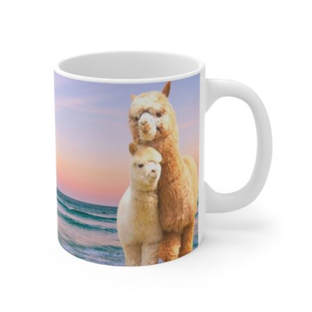 Cherished Baby, You are my sunshine, Alpaca Beach Gifts gift mug for child mamma alpaca, baby alpaca