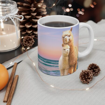 Cherished Baby, You are my sunshine, Alpaca Beach Gifts gift mug for child table
