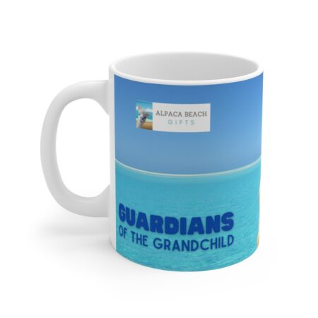 Guardians of the Grandchild, loving gift for child, 11 oz mug, words
