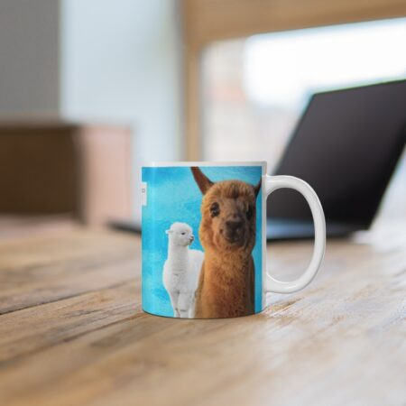 Thank you for being the reason I smile gift mug to child, desk