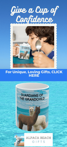 Guardians of the Grandchild gift mug